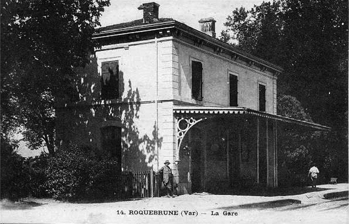 Gare-Roquebrune-Var-1900